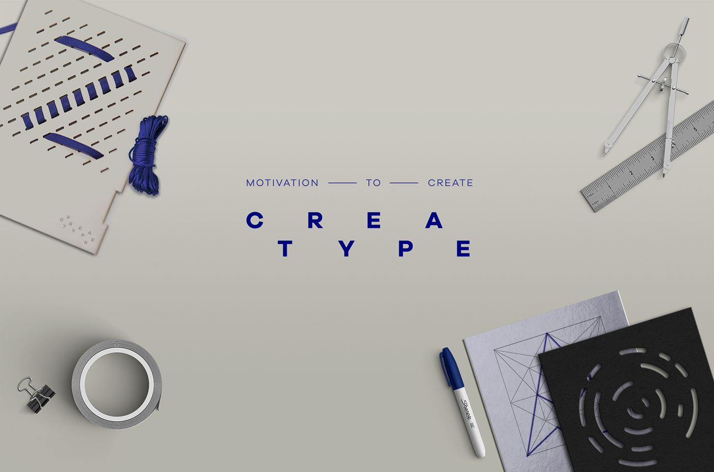 creative type Creatype pattern designing Start letter product box pages card