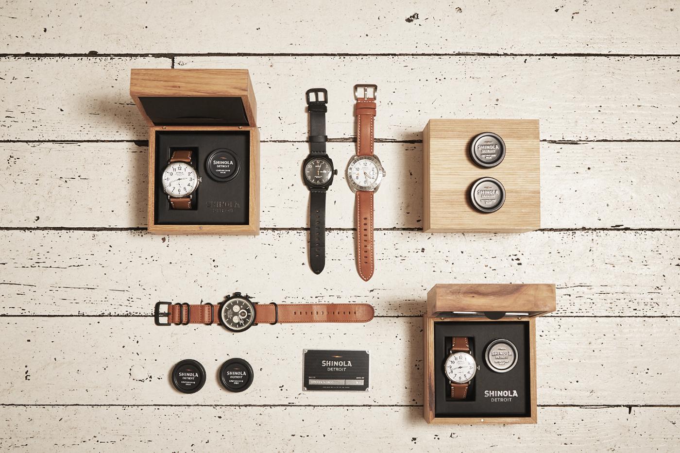 Shinola Watches At A