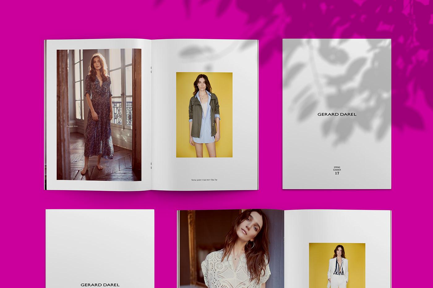 Lookbook Mode pink yellow