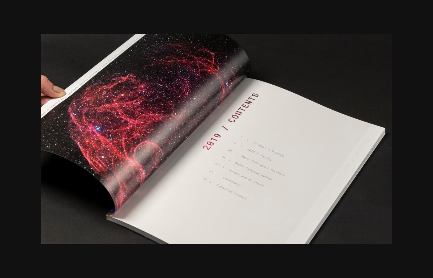 annual report Designlab holograph holographic JPL JPL-Designlab nasa