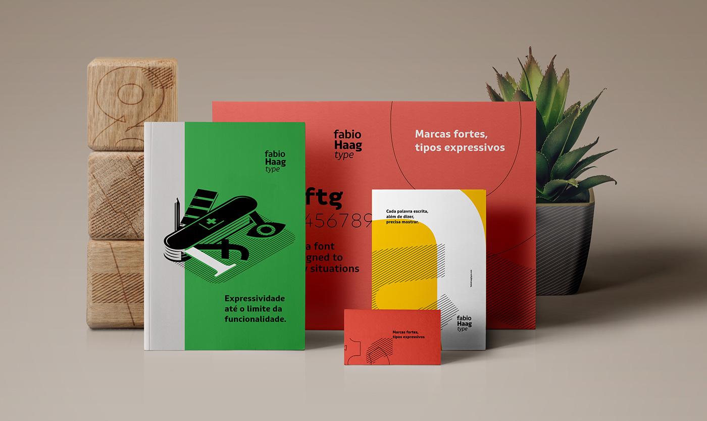 branding  foundry haag Isometric letters studio type type designer typography   visual identity