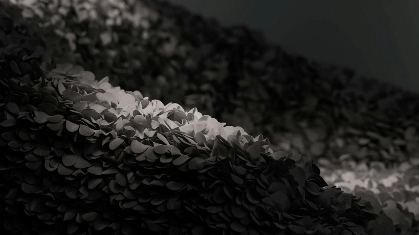 ArtDirection c4d Film   hortensia octane product redshift