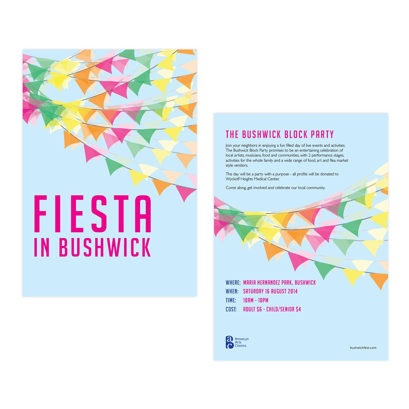 fiesta flyer poster on behance