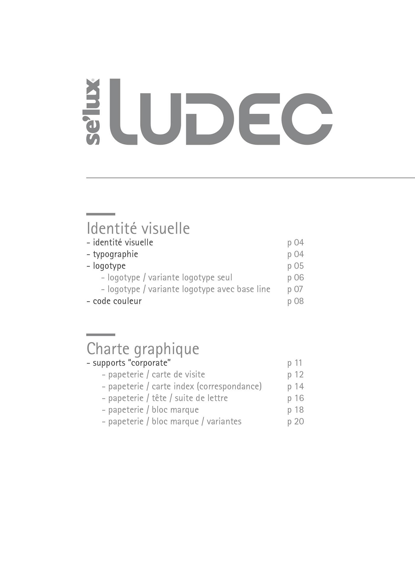 Ludec Editorial Design Logotype Reshape On Behance