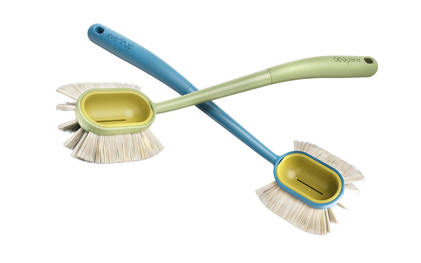 bamboo design Dish Brush eco industrialdesign productdesign reciclyng sustaintable Packaging rendering