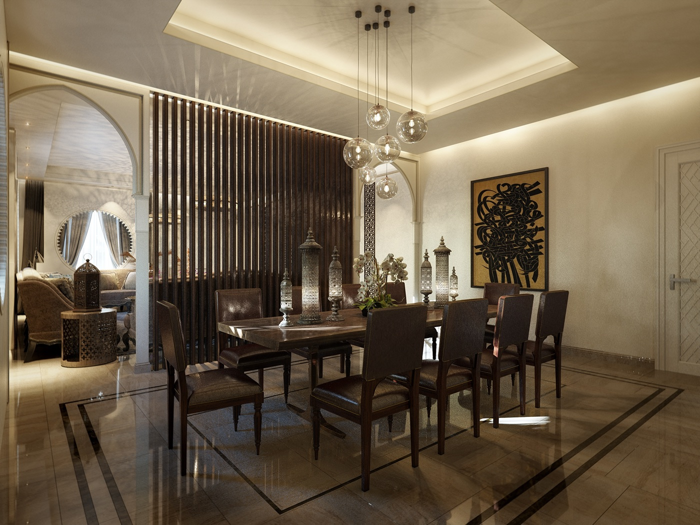Private Villa Sharjah UAE FULL SET On Behance