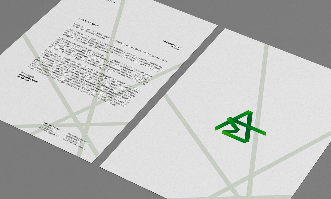 Ad P Architetti alessandra menci architetto - branding on behance