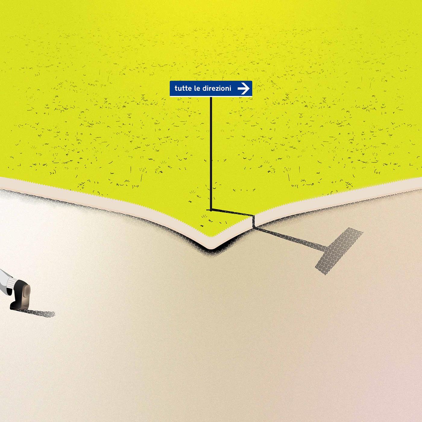 bivio,cartello,choise,corner,ebook,ILLUSTRATION ,scelta,segnaletica