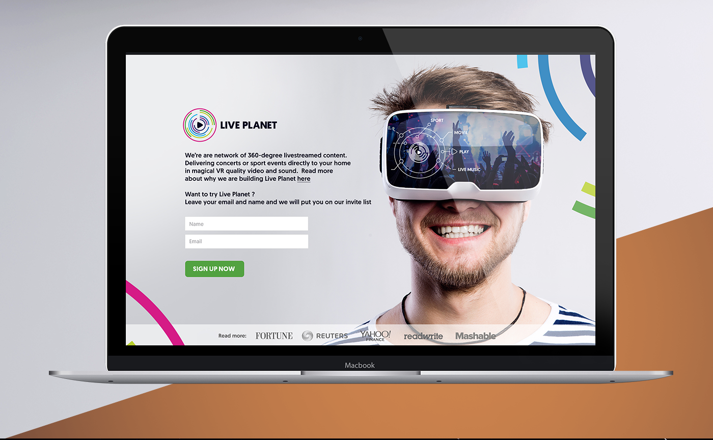 Virtual reality,360 Camera,Oculus,Samsung Gear,broadcasting,logo,colors,emptypage,For Hire,2016 trends,Behance,Branding served,Ireland,Startup,Silicon Valley