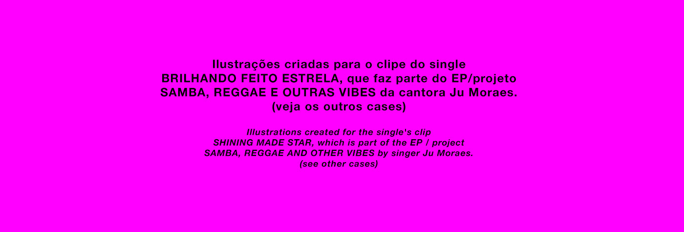 clipe,music,ILLUSTRATION ,Calligraphy  ,Samba,Show,jumoraes,salvador,Brazil,Art Director