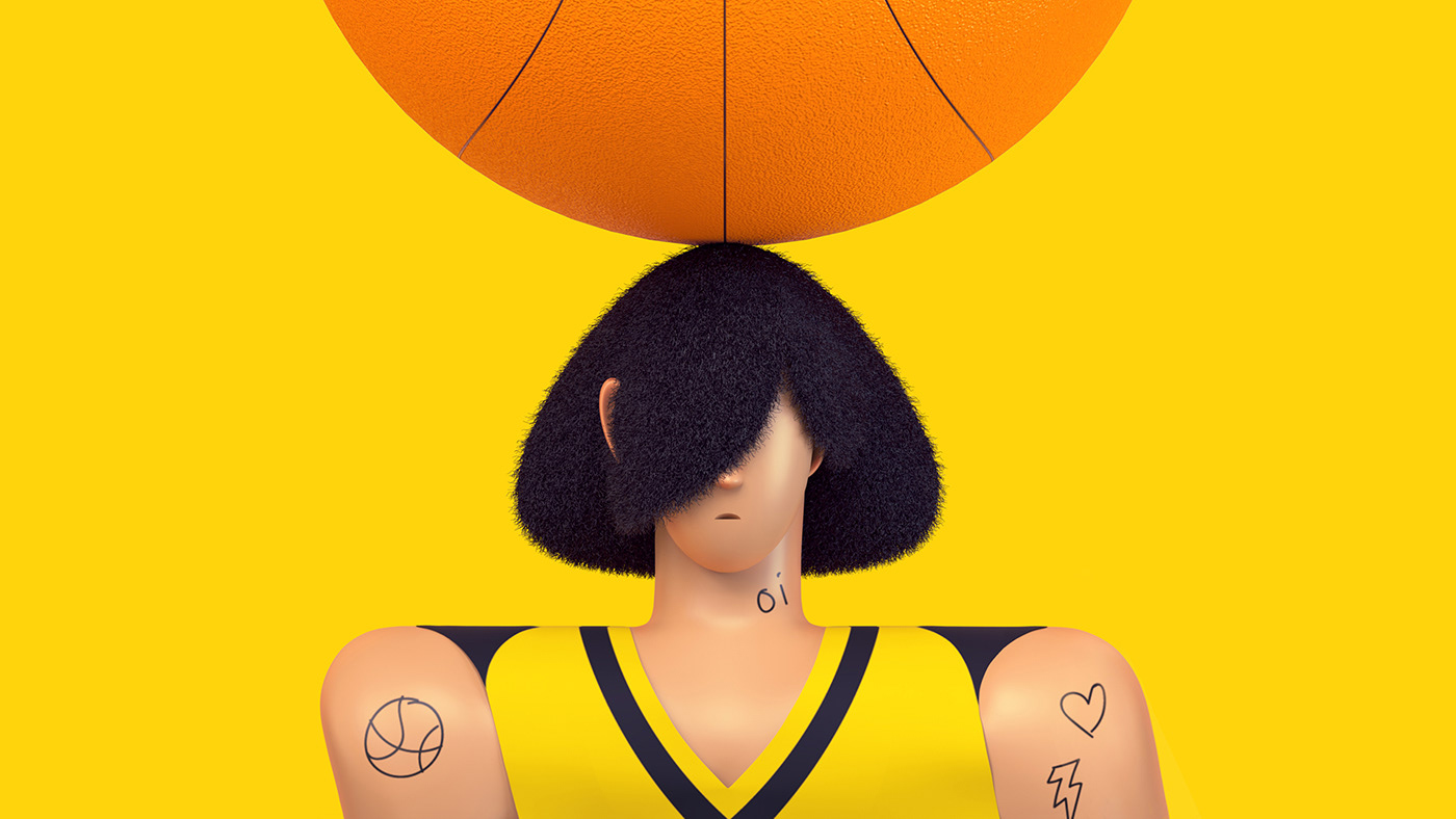 design art direction  Character design  3D cinema 4d graphic colorful ILLUSTRATION  motion balance