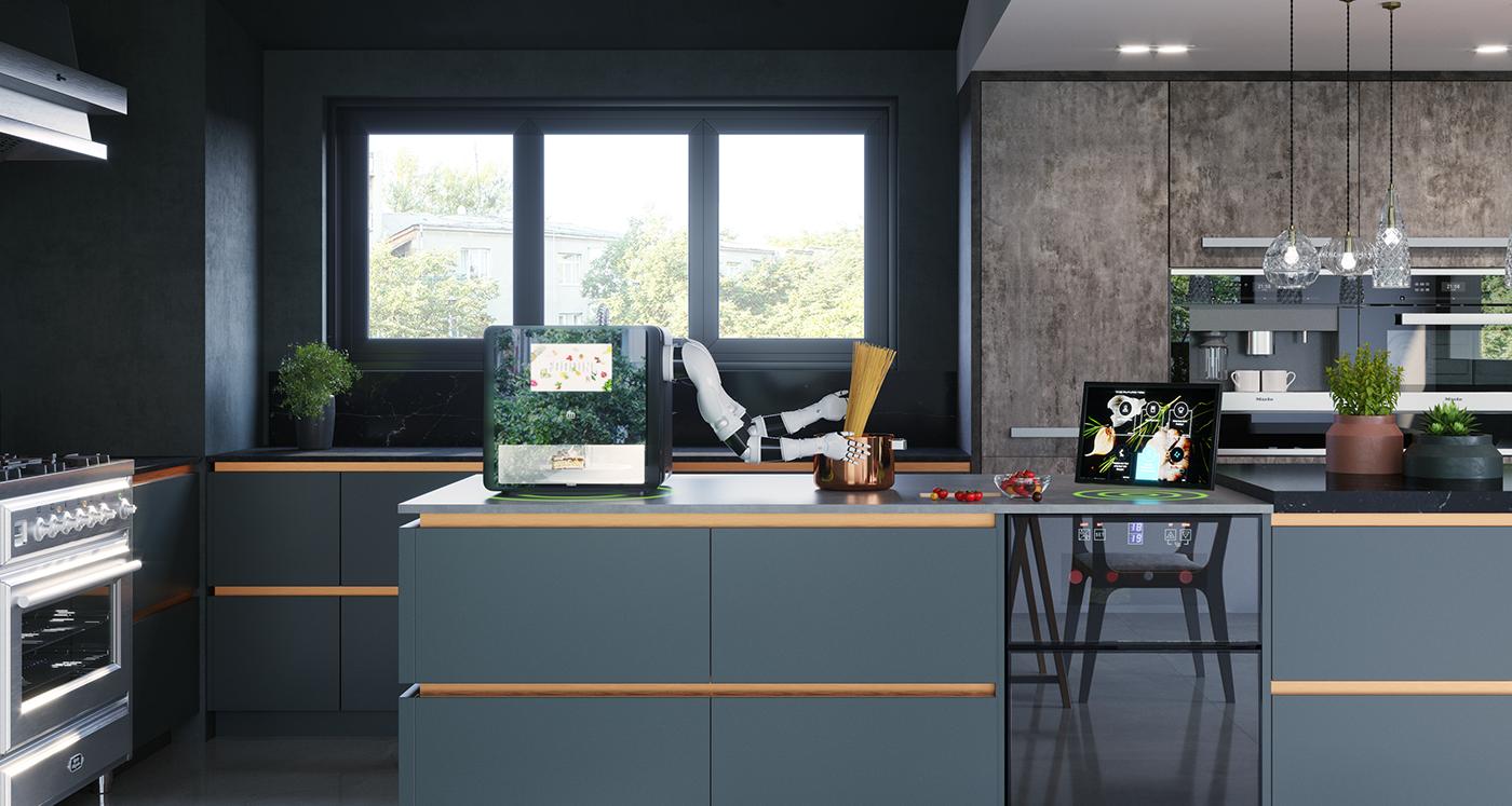 有創意感的21款廚房用具設計欣賞