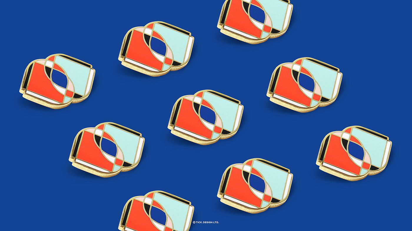 Association branding  culture innovation logo professional symmetrical system visual youth