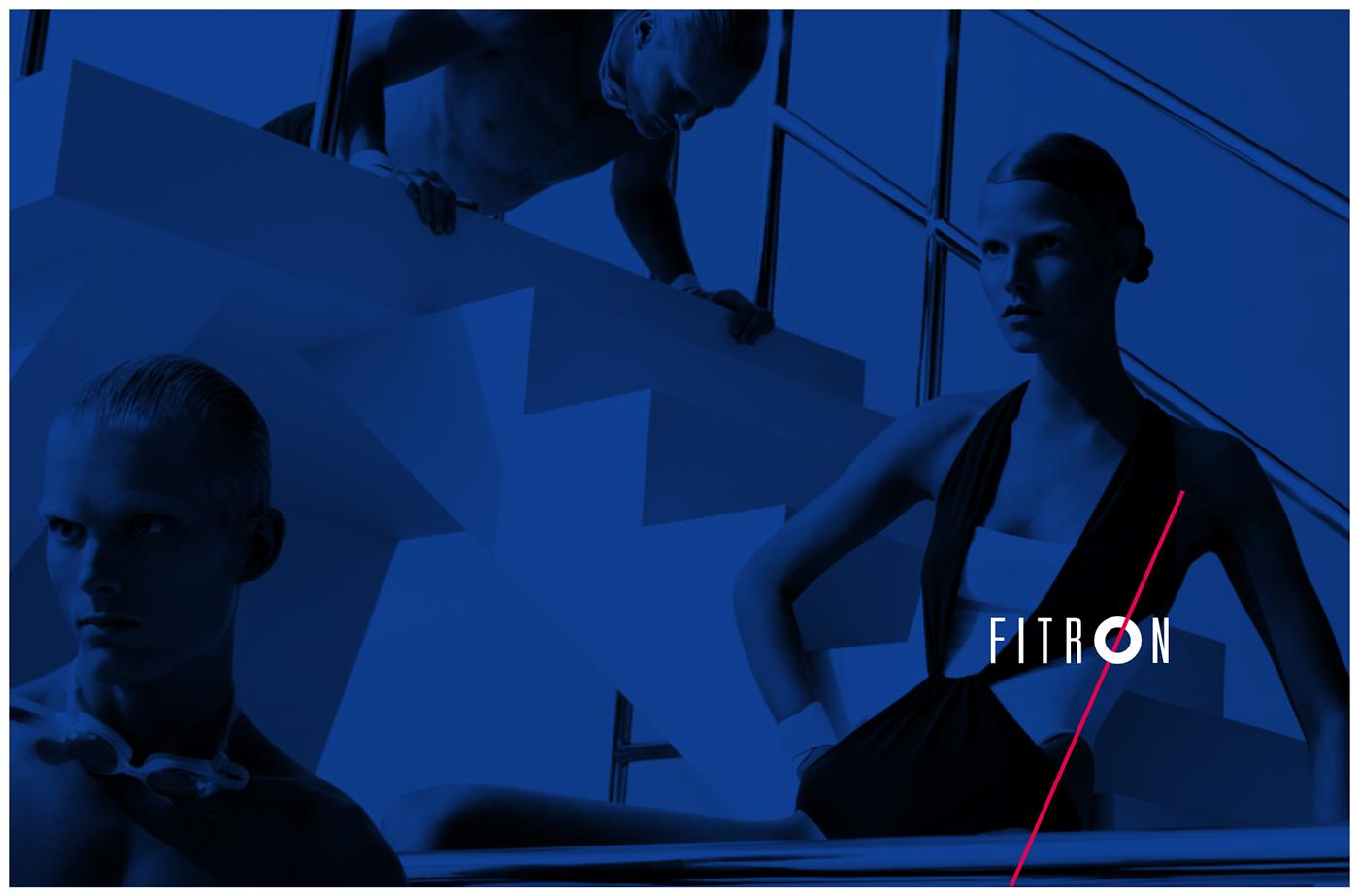Adobe Portfolio FITNESS SPACE logo brand sport Spa energy beauty