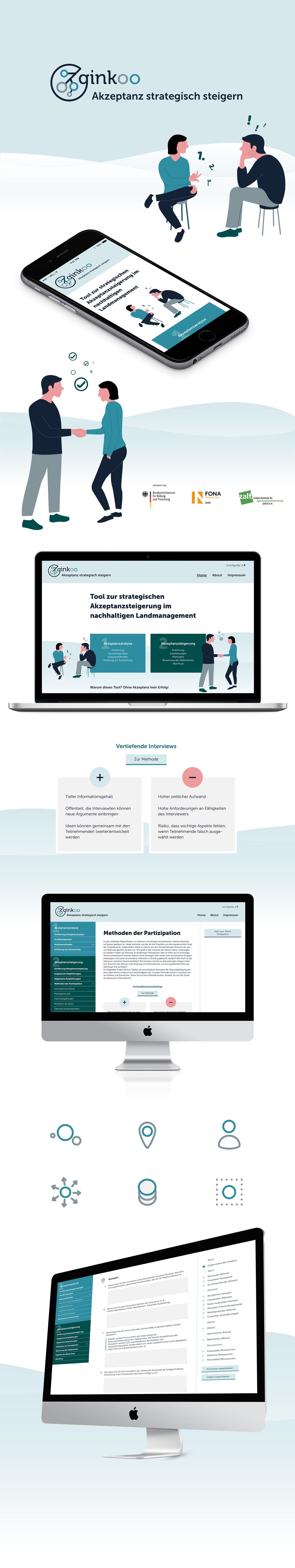 Akzeptanz design innovation nachhaltigkeit Webdesign Website
