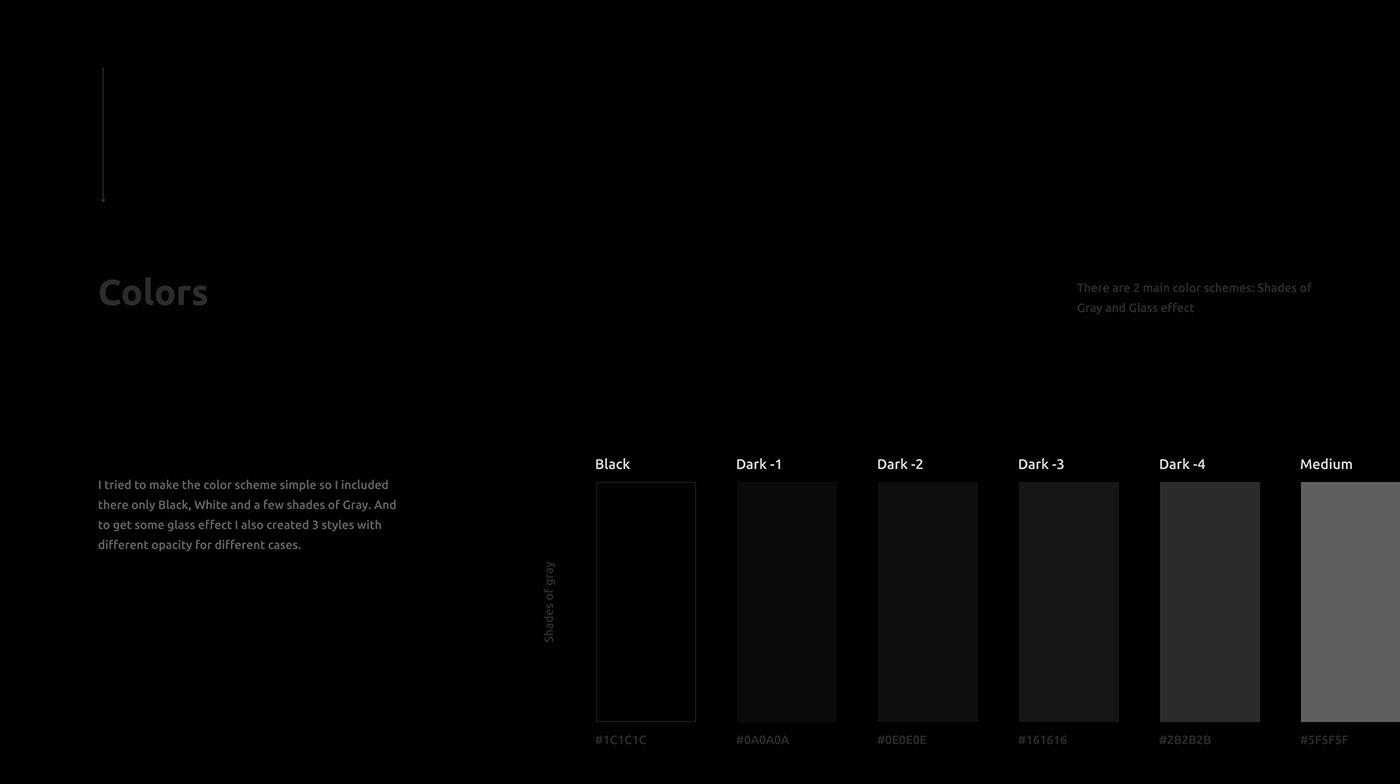 dark mode design system download Figma free Minimalism neomorphism skeuomorphism ui design ui kit