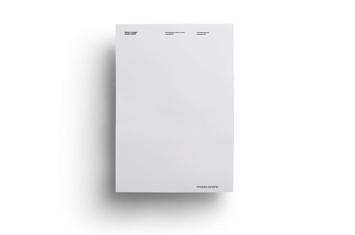 branding  brand identity minimalistic Illustrator photoshop InDesign black White design Stationery