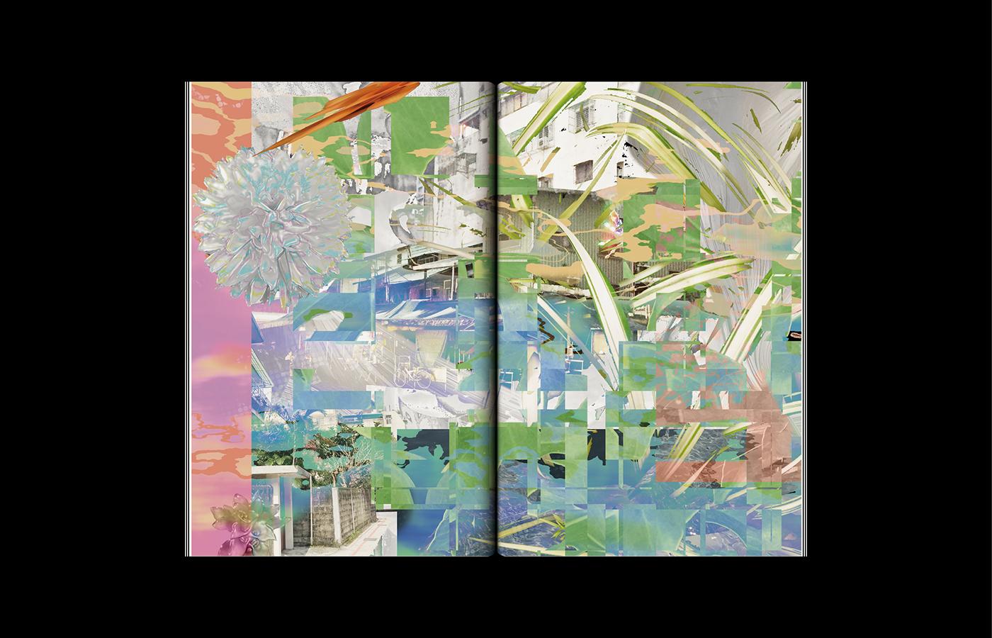 Daoism taoism philosophy  graphic design  editorial design  book design visual research design research