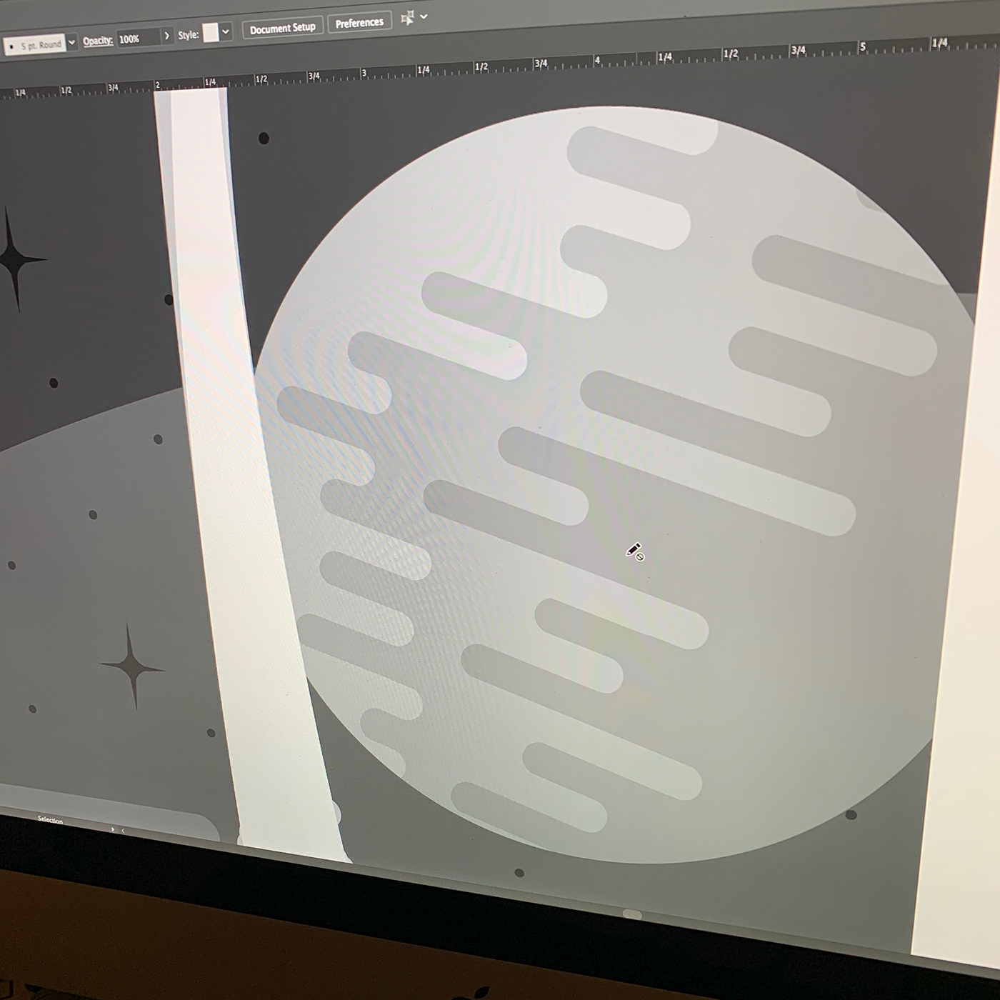 laser cut illusration Illustrator art handmade