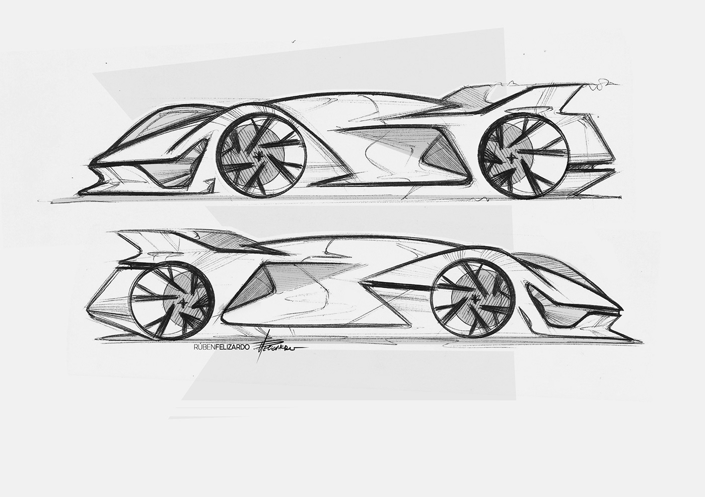 Group C Racing Car Sketches On Behance