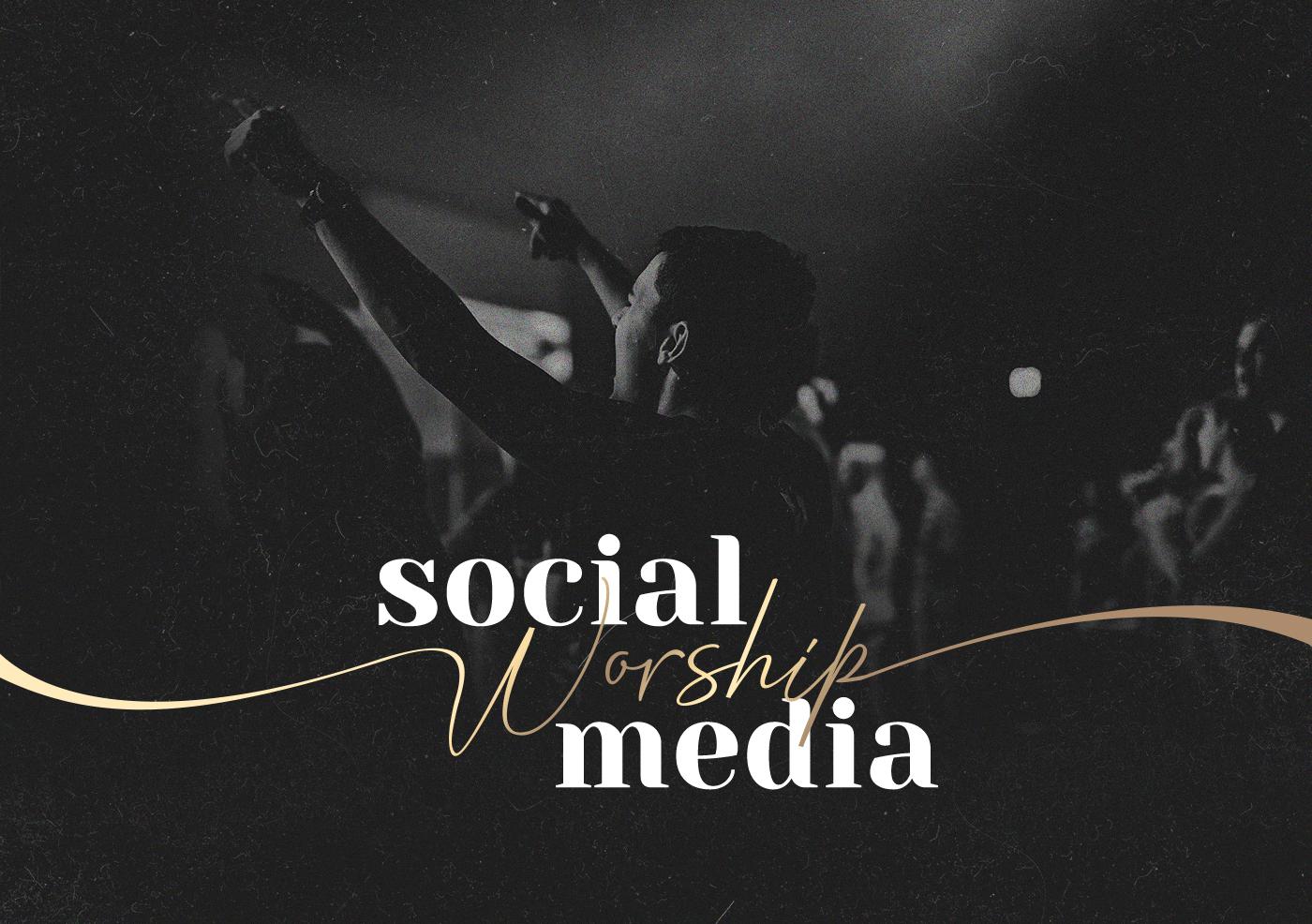 social media mídias sociais facebook worship post instagram hillsong Igreja social media