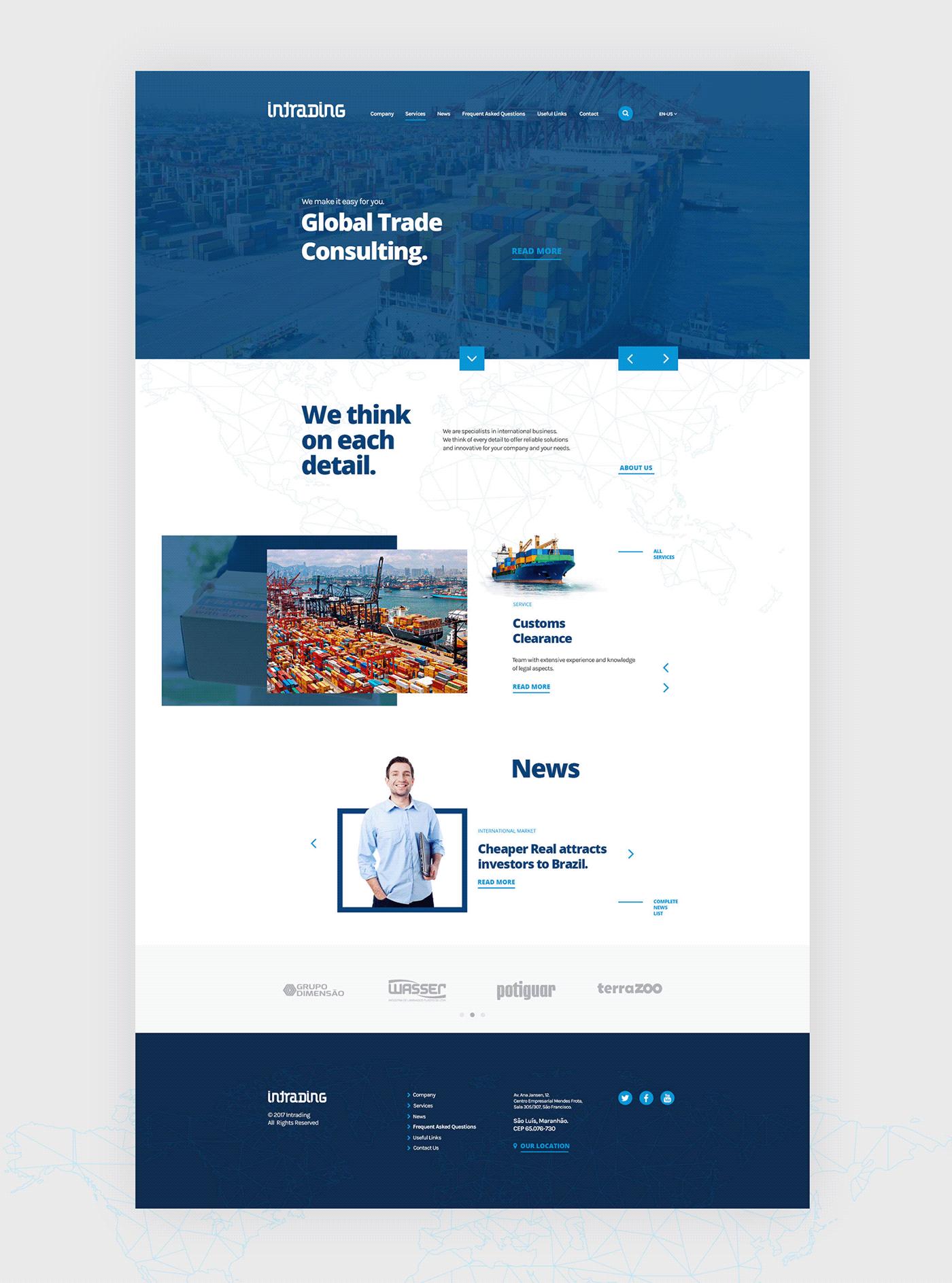 Interface UI ui design UI/UX ux Web Design  web development  Website wordpress Responsive