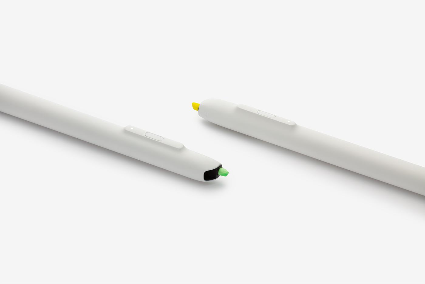 Hyler Smart pen highlighter scrap bkid product industrial design