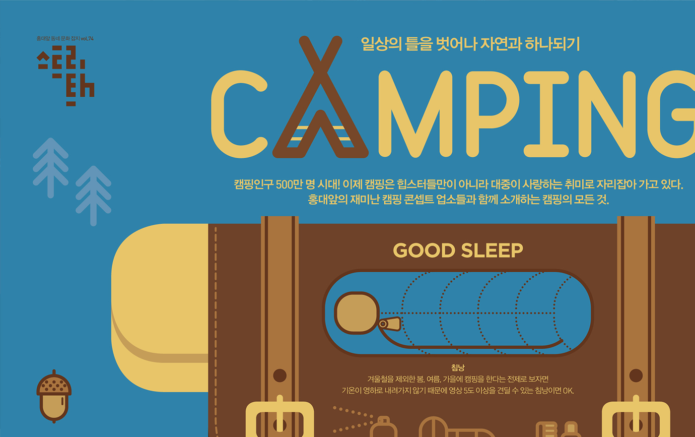 #Poster #Design #graphic design #infographic #infographics #data visualization #editorialdesign #nature #Camping   #203x