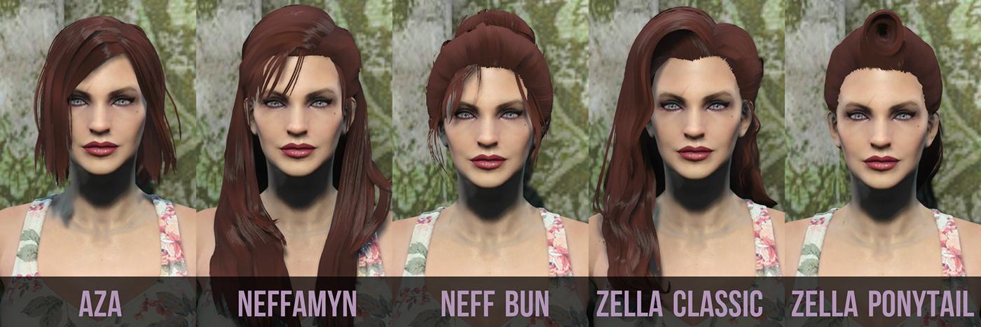 Custom Made Hairstyles On Behance
