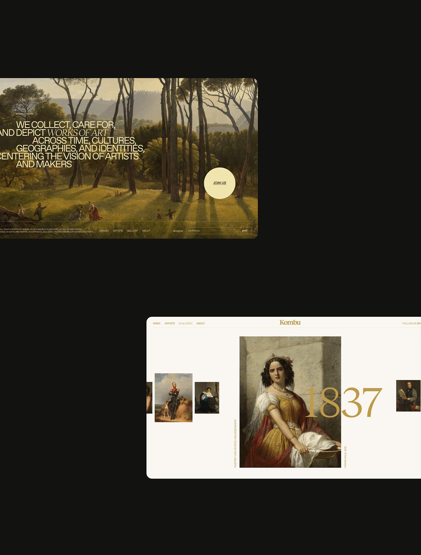 art culture design magazine minimal museum painter painting   Website Fair