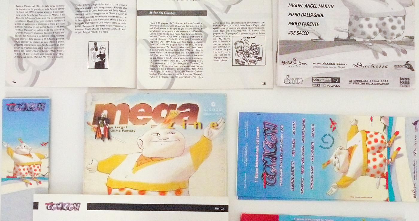 comicon 1998 lorenzo mattotti comicon book draw
