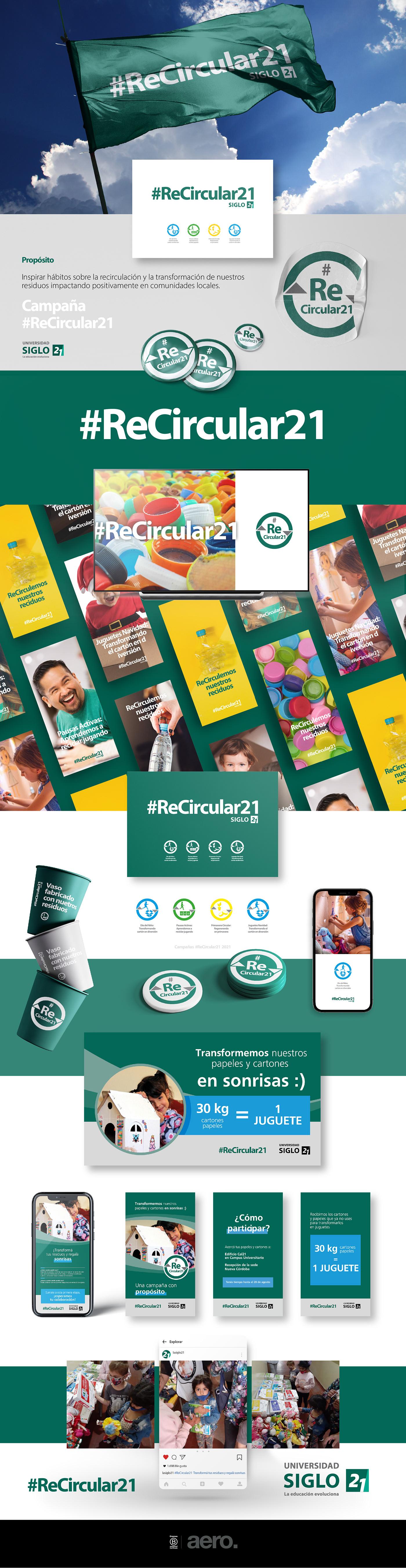 argentina buenos aires Campaña circular economy cordoba eco environment siglo 21 Sustainability