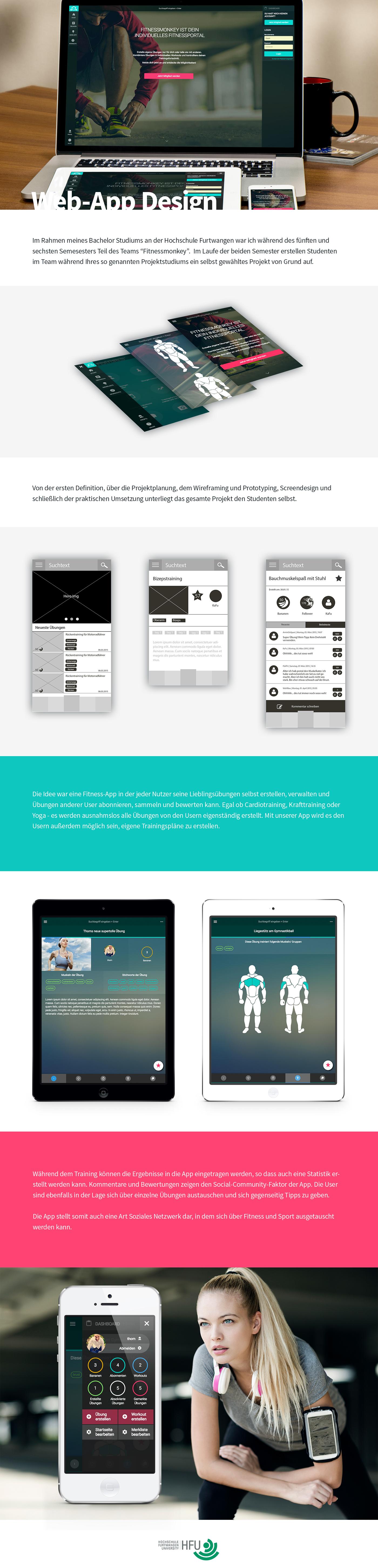 webapp Web-App web app modx fitnessmonkey fitness app fitness fitness-app