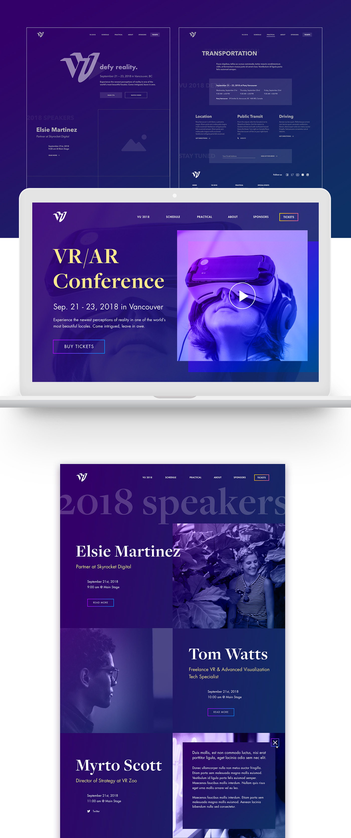 visual identity branding  vr Virtual reality AR augmented reality conference logo mr Mixed Reality