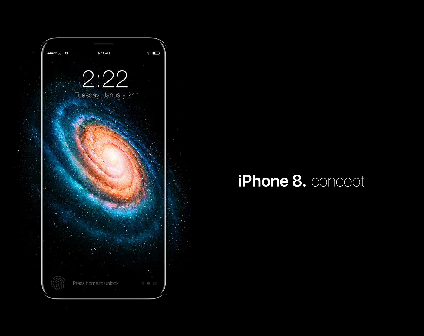 iphone 8 iphone apple iphone8 concept moeslah moe slah ios