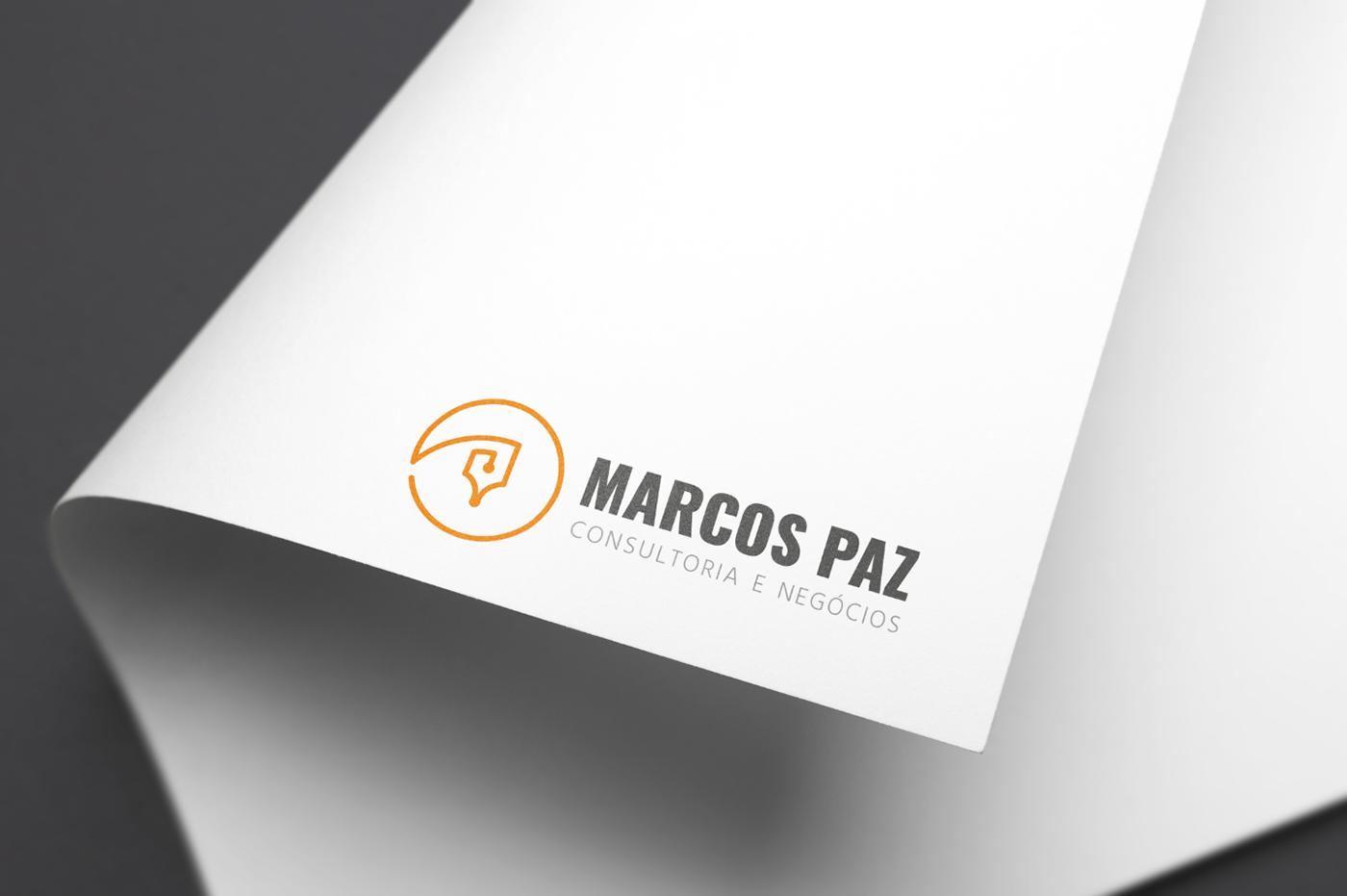 logo design design gráfico marca branding  advocacia inspiração referência projeto gráfico