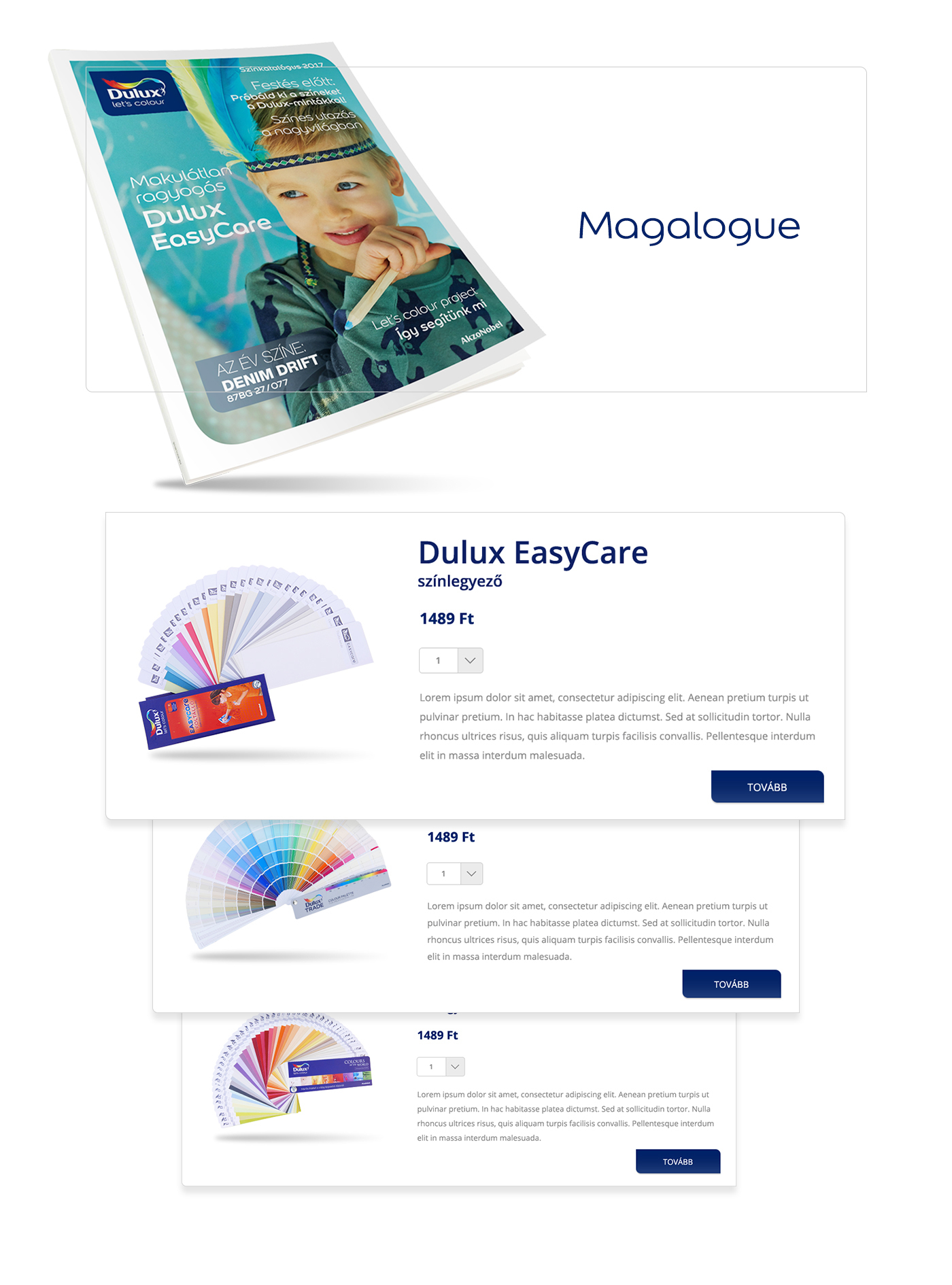 Dulux Tester Webshop on Behance 5aaa6a739f