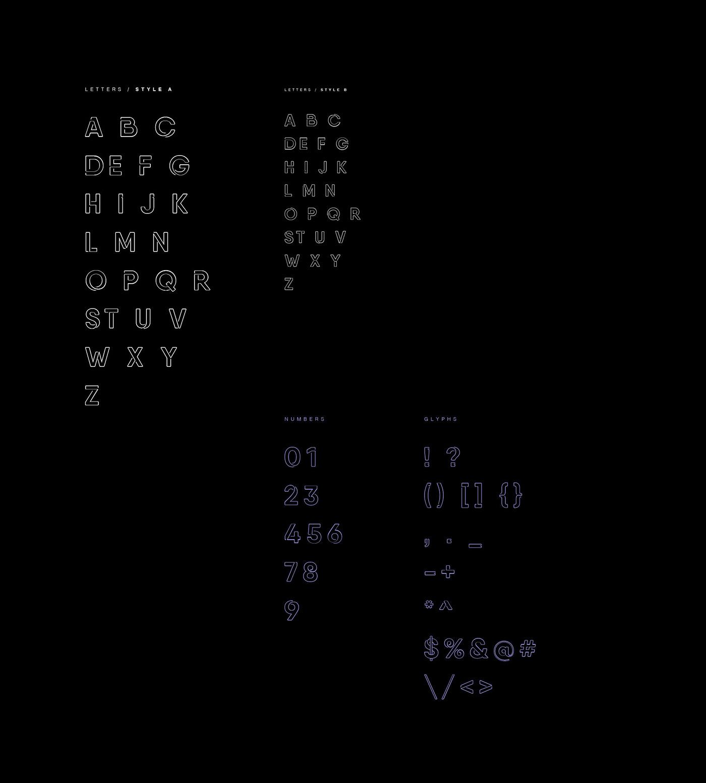 free download Free font freebie free typeface free neon free light font