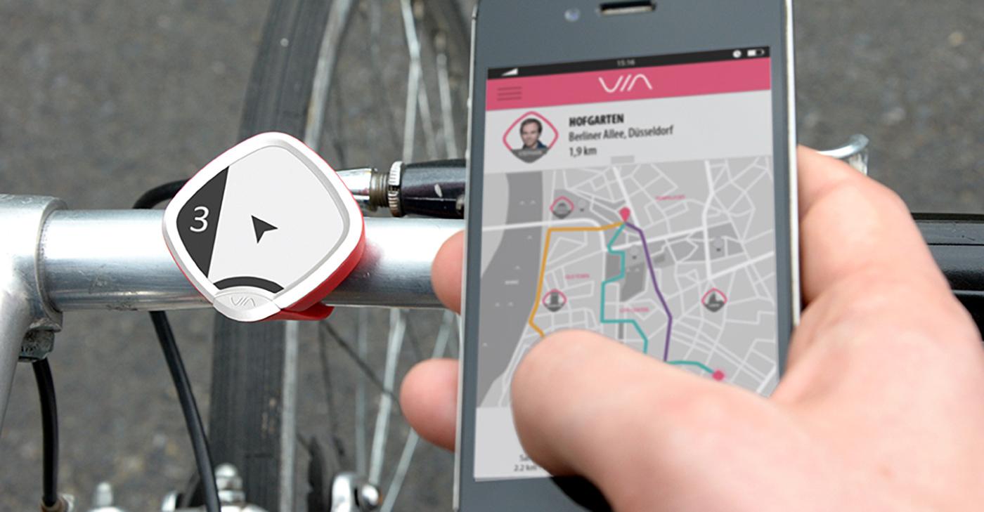 ENTWURFREICH design innovation services medical design user experience design storytelling   Service design digital ux Bike navigation digitalization Wearable