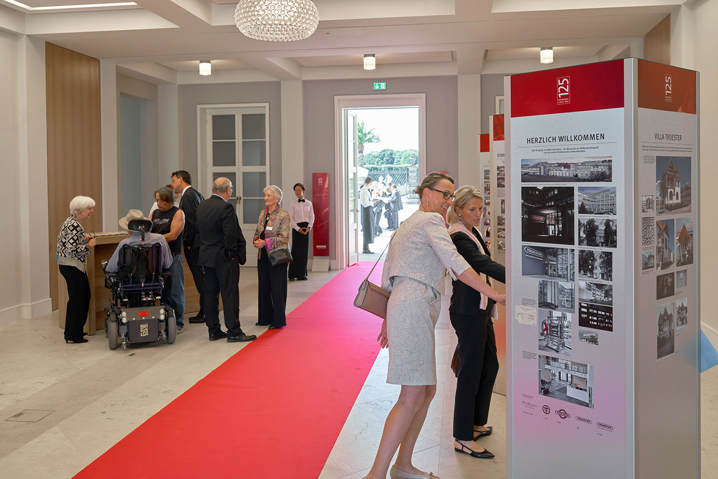 Event Veranstaltung Jubiläum Festakt branding  corporate graphicdesign anniversary Photography  rotherdesign