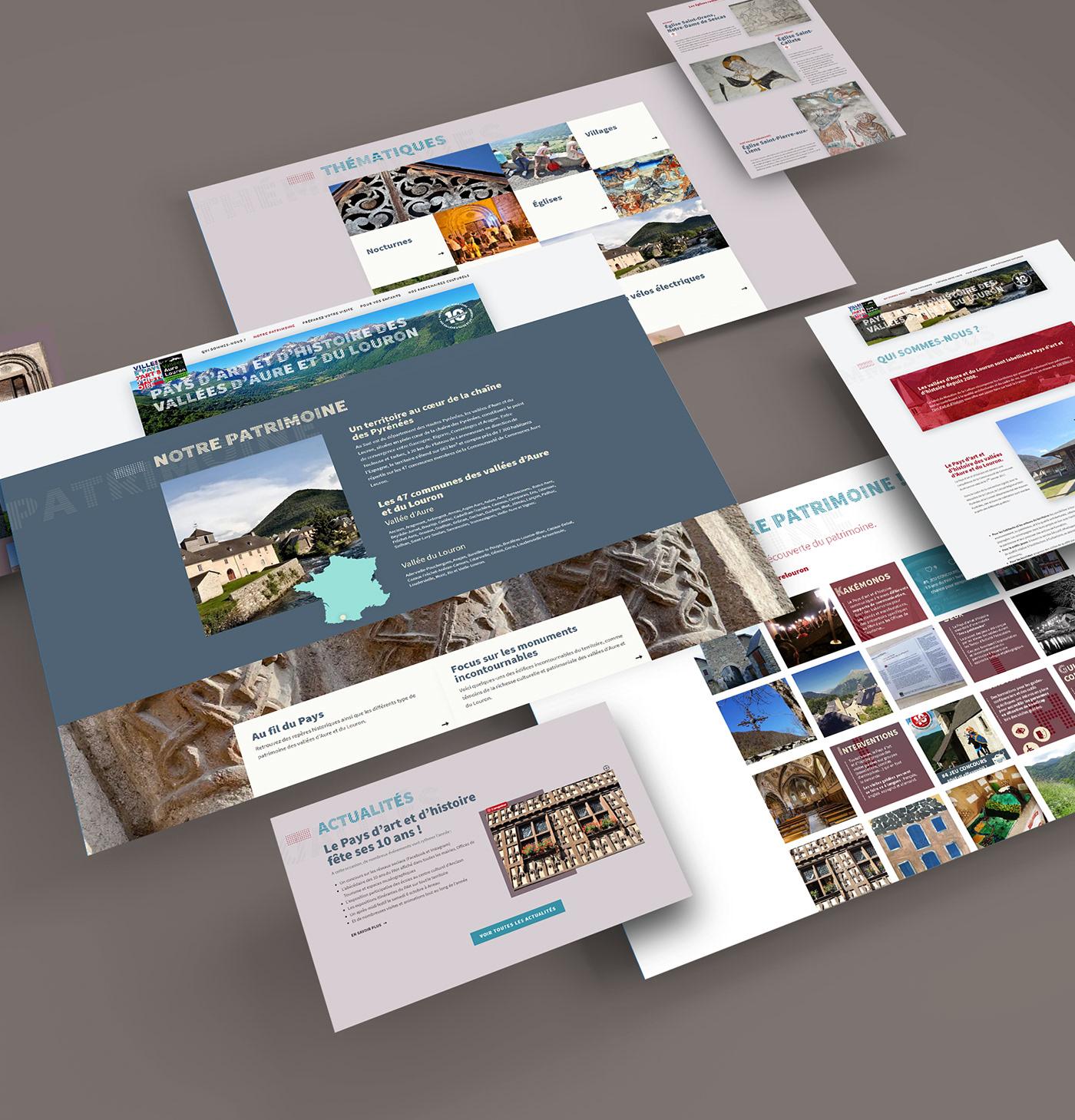 pah aure louron pyrenees Tourisme redesign site web