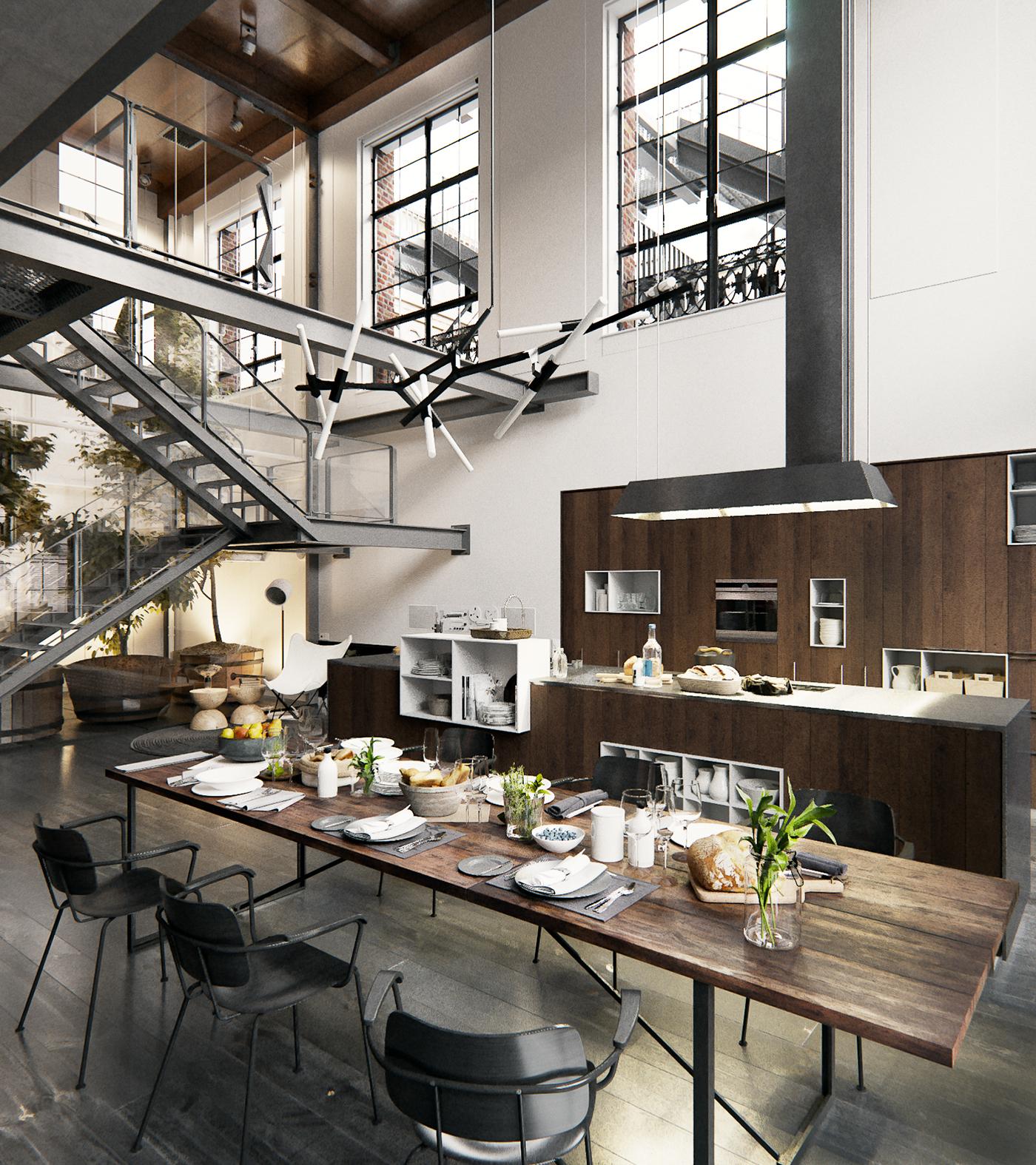 New York Loft Rentals: Loft Studios Project In New York City On Behance