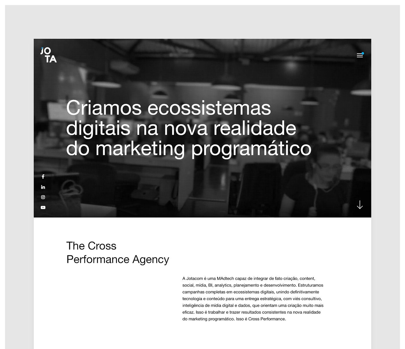 agency redesign uiux Website