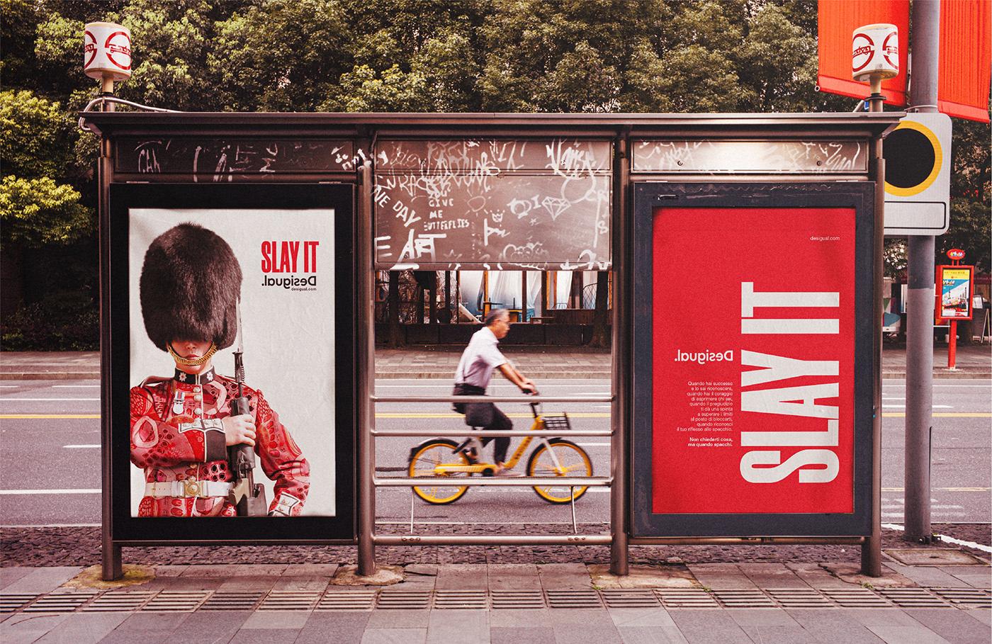Advertising  art direction  copywriting  desigual pubblicita