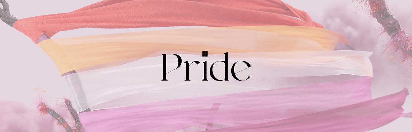 3D cloth colors LGBTQ pride