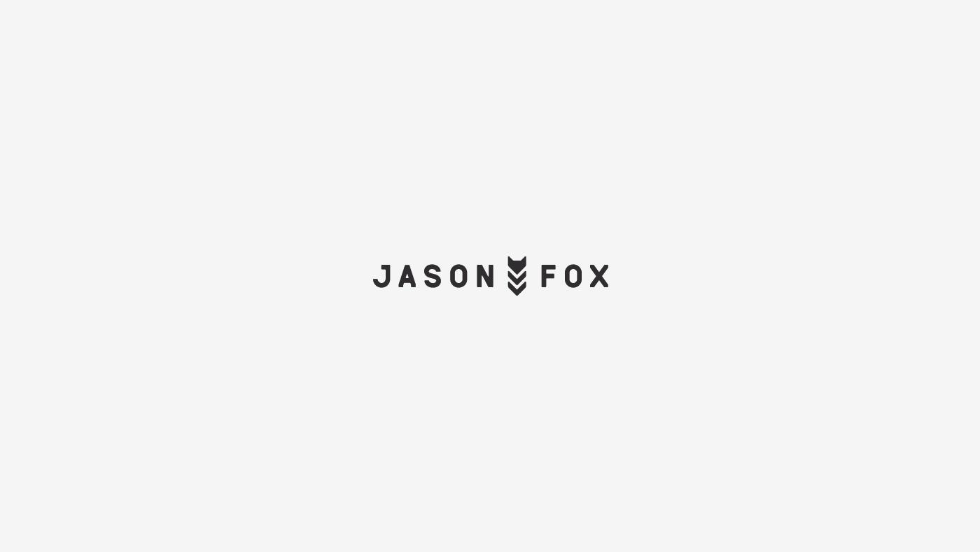 logo logofolio lion geometric horse FOX typography