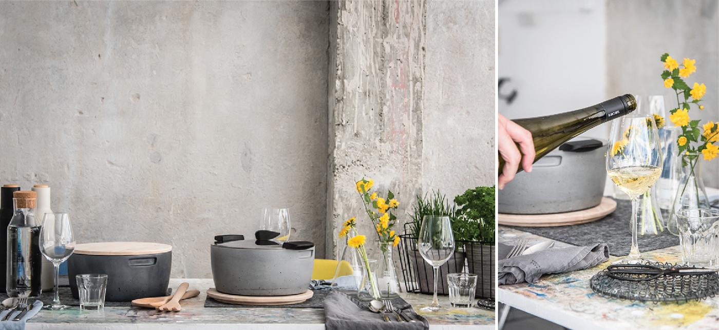 hotpam KUHN RIKON tomas vacek studiovacek gravelli concrete design