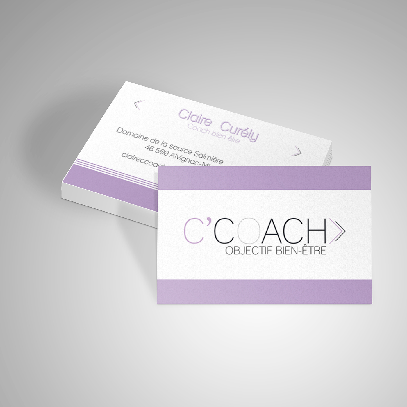 Carte De Visite CCoach On Behance