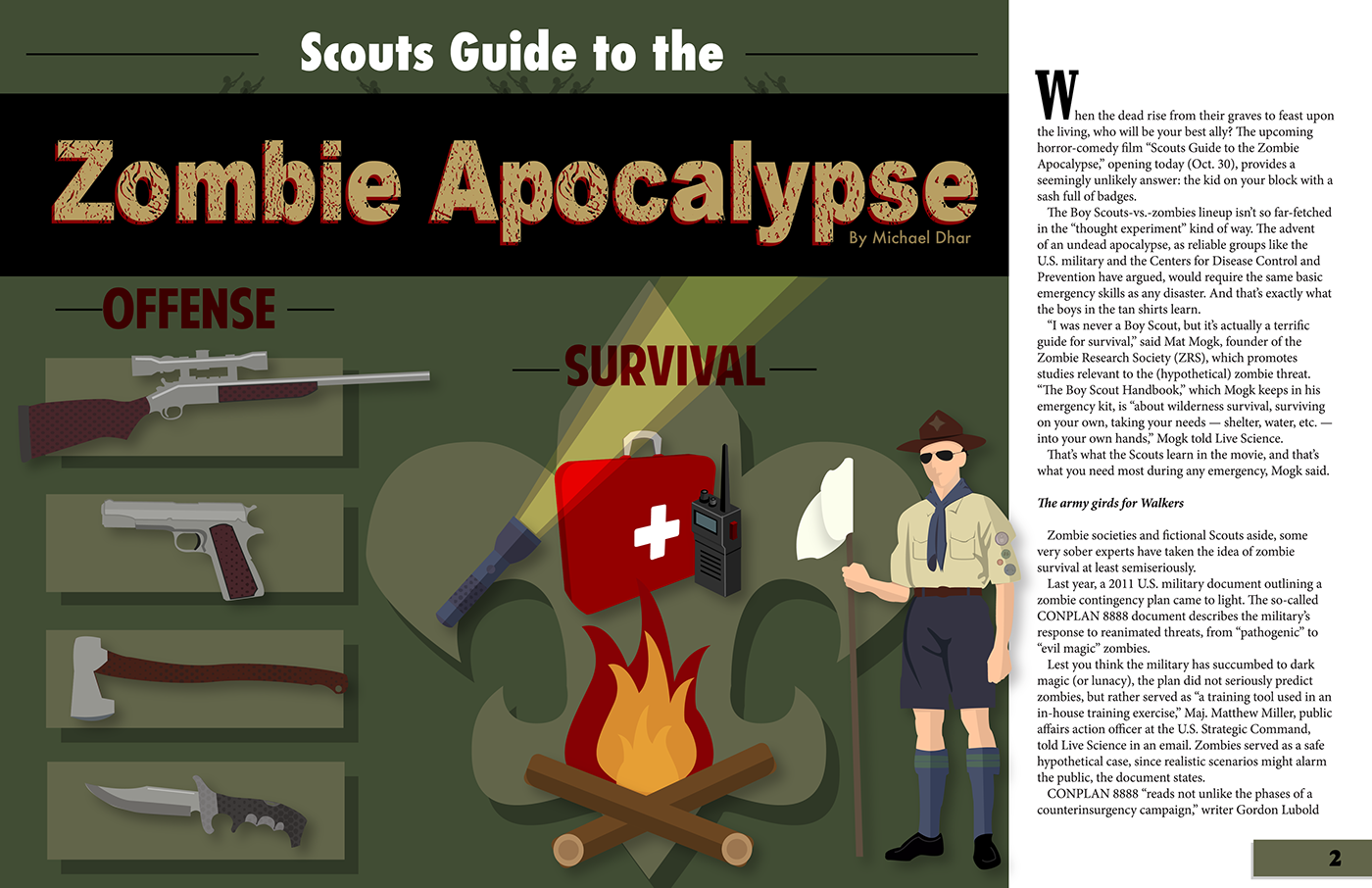 an analysis of boy scout versus infedels
