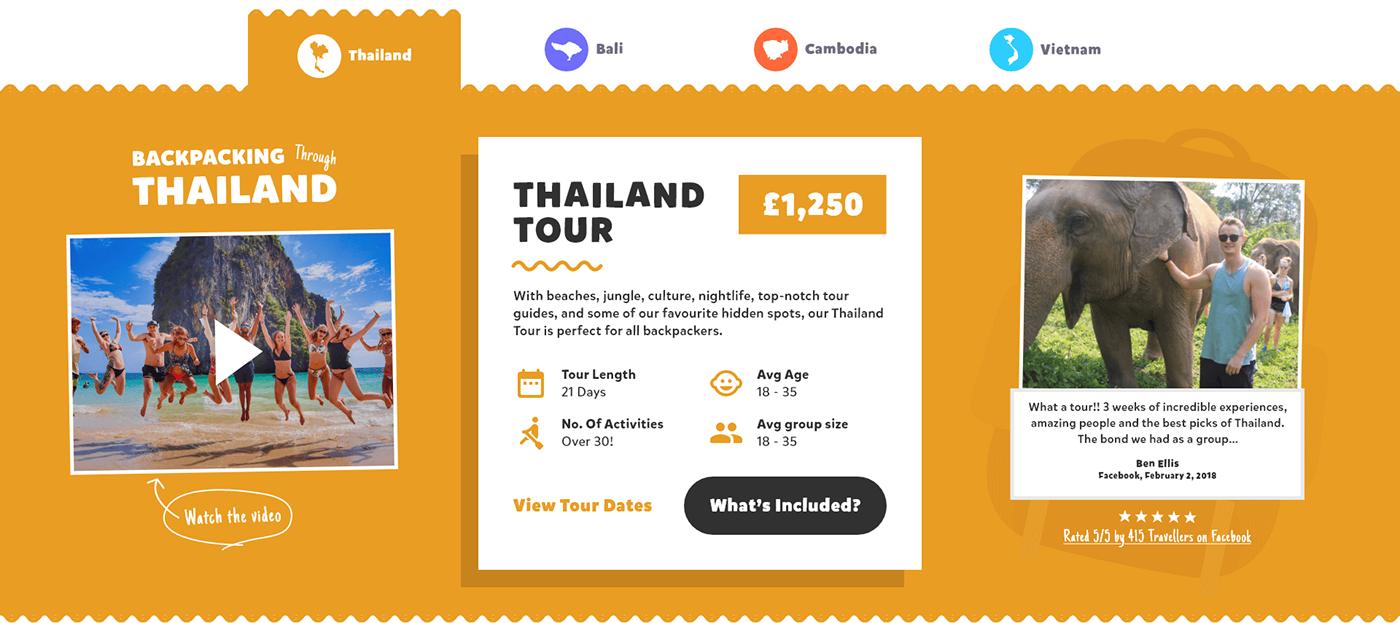 Booking,brand,Website Design